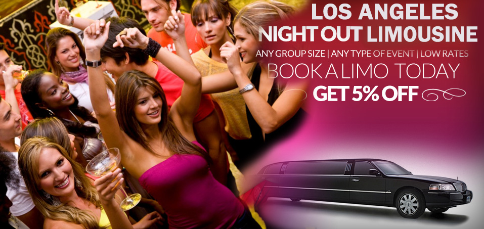 Los-Angeles-night-out-limo